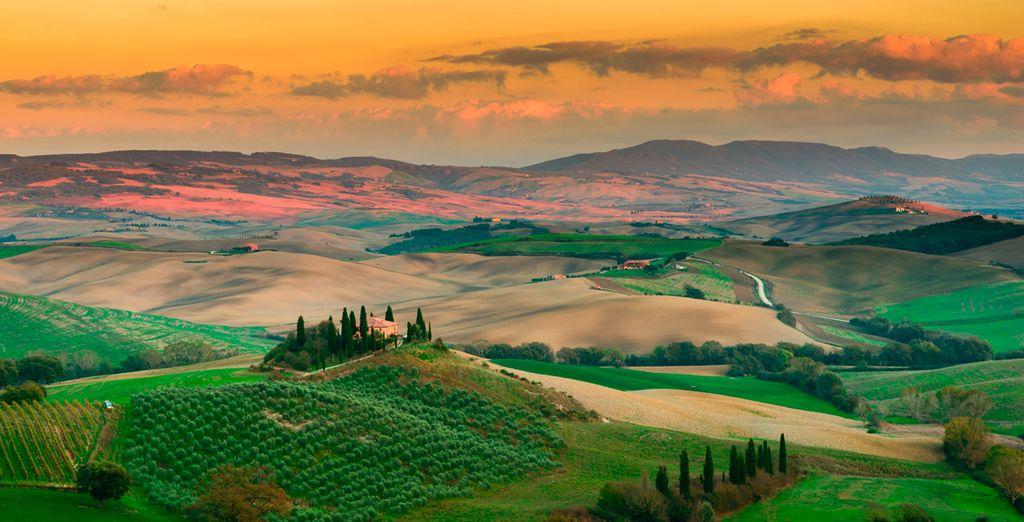 La bella Toscana no le dejará indiferente