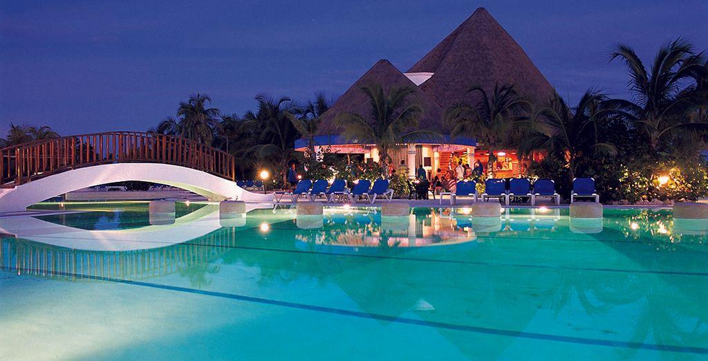 Una piscina para su disfrute