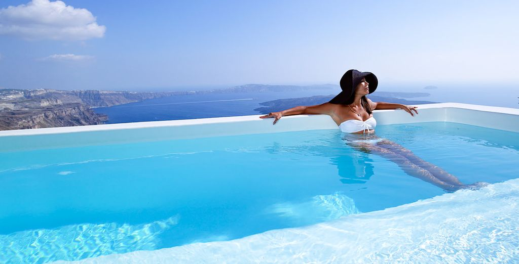 Viajes a Santorini - hoteles de lujo