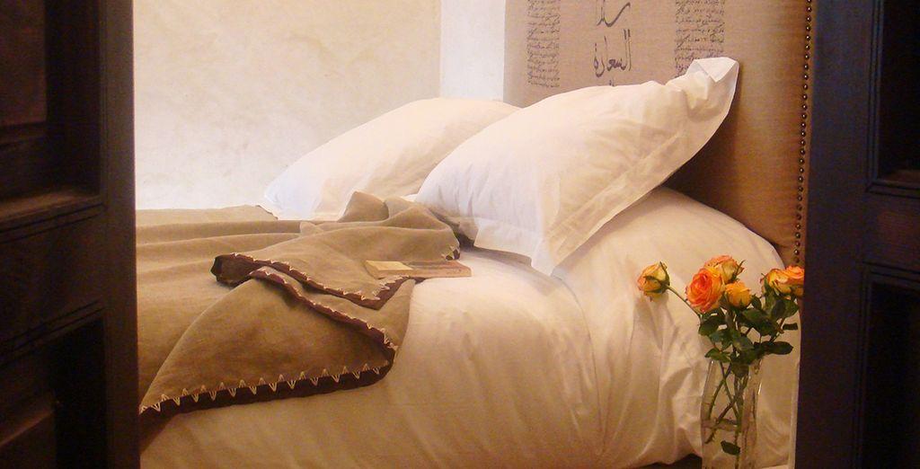 Su habitación le espera en el Riad Dar Seler
