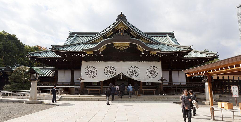 El Santuario Meiji en Tokio