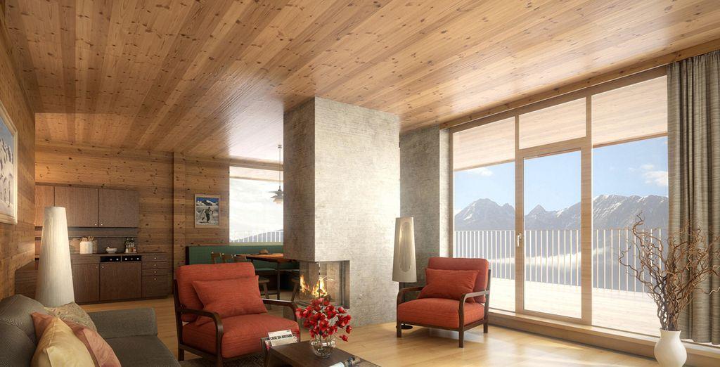 Habitaciones con vistas acojedoras