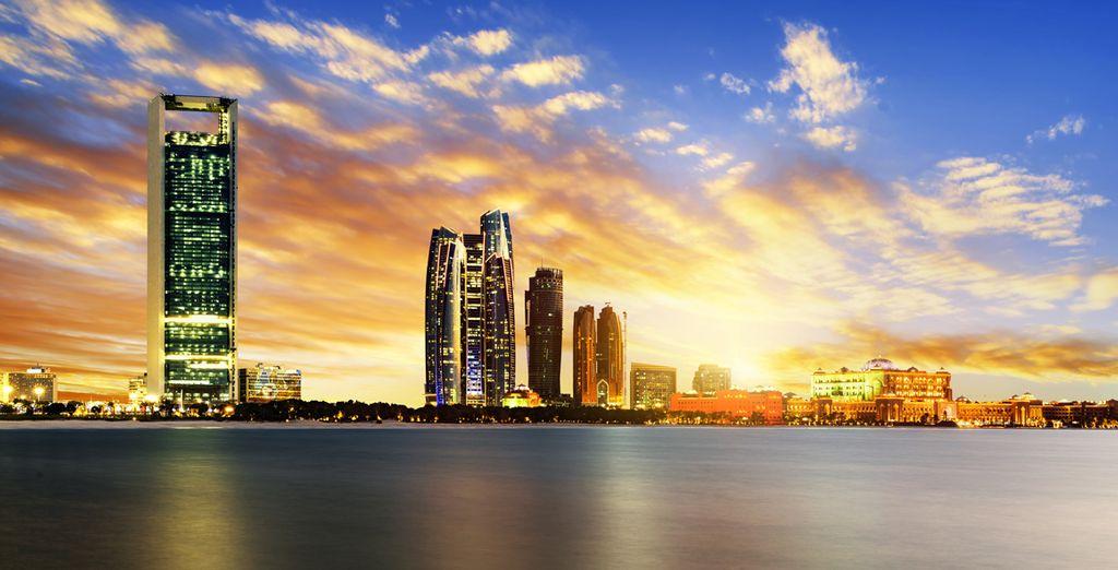 Acércate a Abu Dhabi