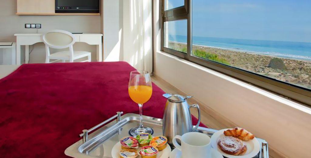 Comience bien su día con un cuidado desayuno