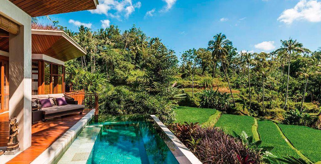 Le espera la paradisíaca Bali, una isla donde relajarse y desconectar