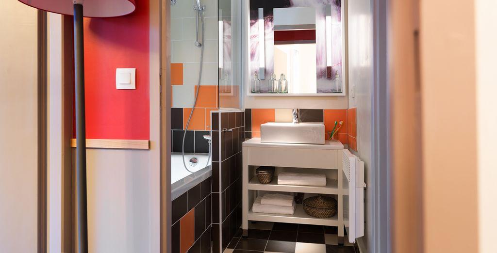 Baños completamente equipados para su estancia