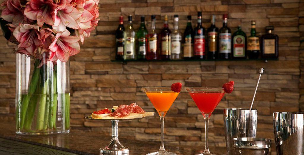 Tómate un aperitivo en su bar