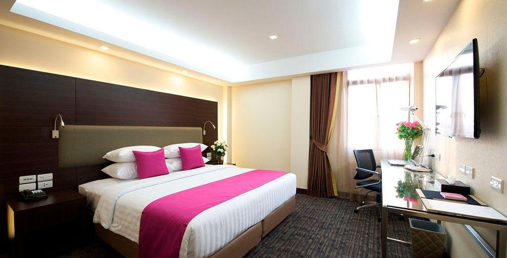 Tu Hotel Royal Bangkok@Chinatown 4*, en Bangkok