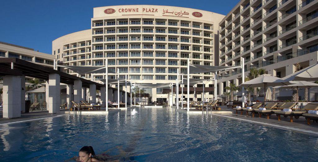 Una gran piscina para tus vacaciones
