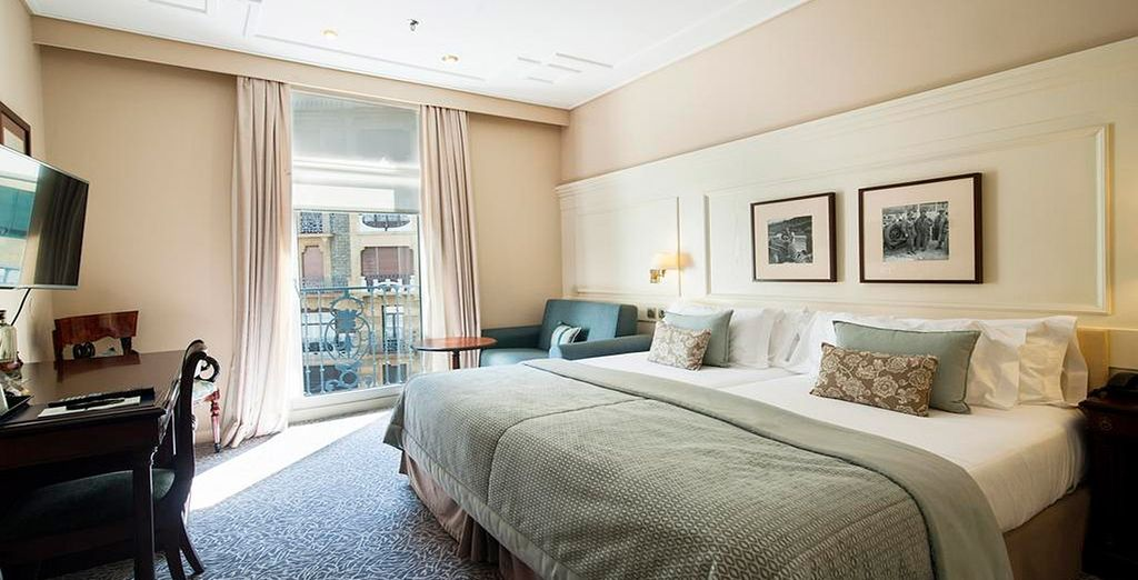 O una habitación Clásica con vistas a la ciudad