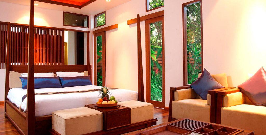 Ofrece interiores espaciosos y está equipada con todas las comodidades modernas para garantizar tu comodidad absoluta