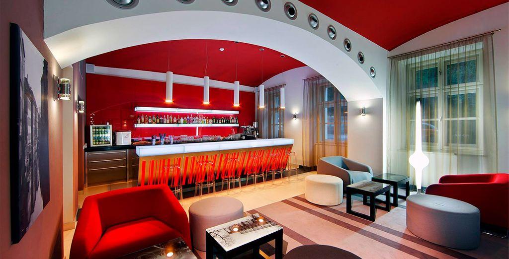 Bienvenido a Red & Blue Design Hotel Prague 4*