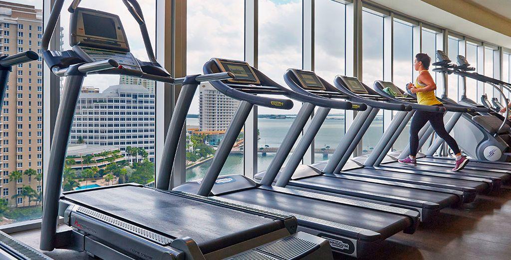 El centro de fitness del Viceroy dispone de equipamiento de última generación