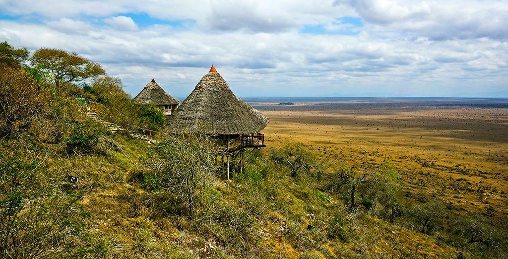 Disfruta de un safari por Taita Hills