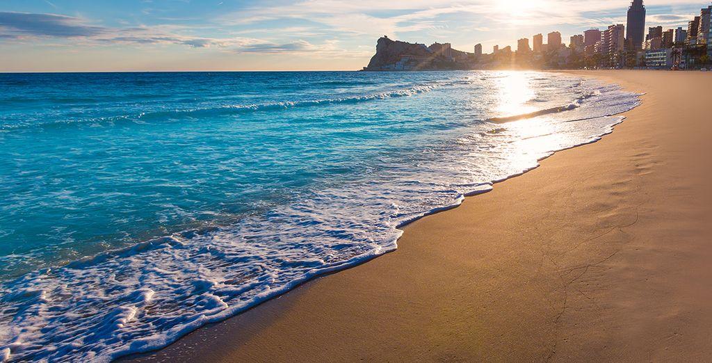 Disfrute de las playas...