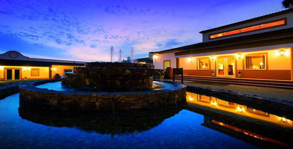 Preciosas puesta de sol en el Hotel Vila Galé Clube de Campo