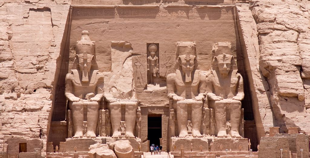 Un recorrido que le llevará hasta Abu Simbel