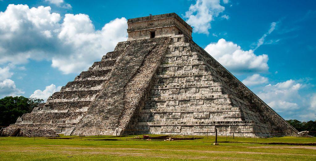 Aprovecha para visitar Chichén Itzá