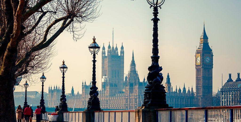 Déjese enamorar por la belleza de Londres