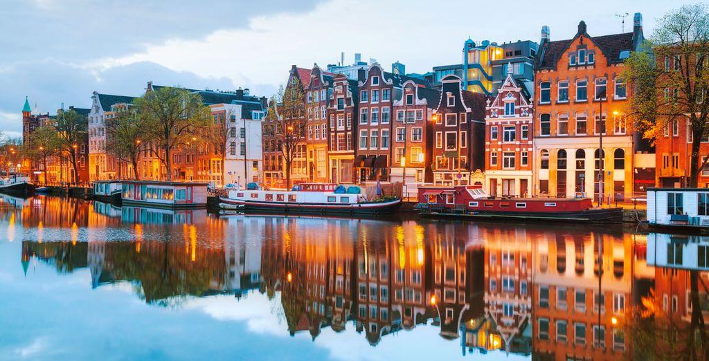 ¿Todavía no conoce Ámsterdam?