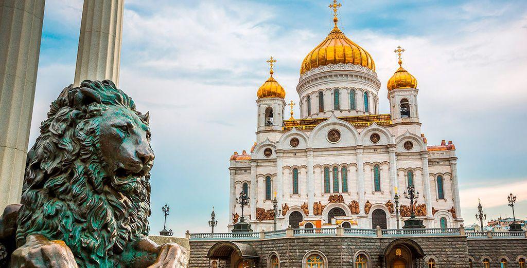 Conoce el país de los zares: Moscú y San Petersburgo te esperan