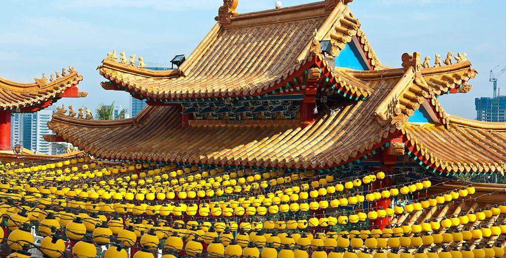 ... o el templo Thean Hou