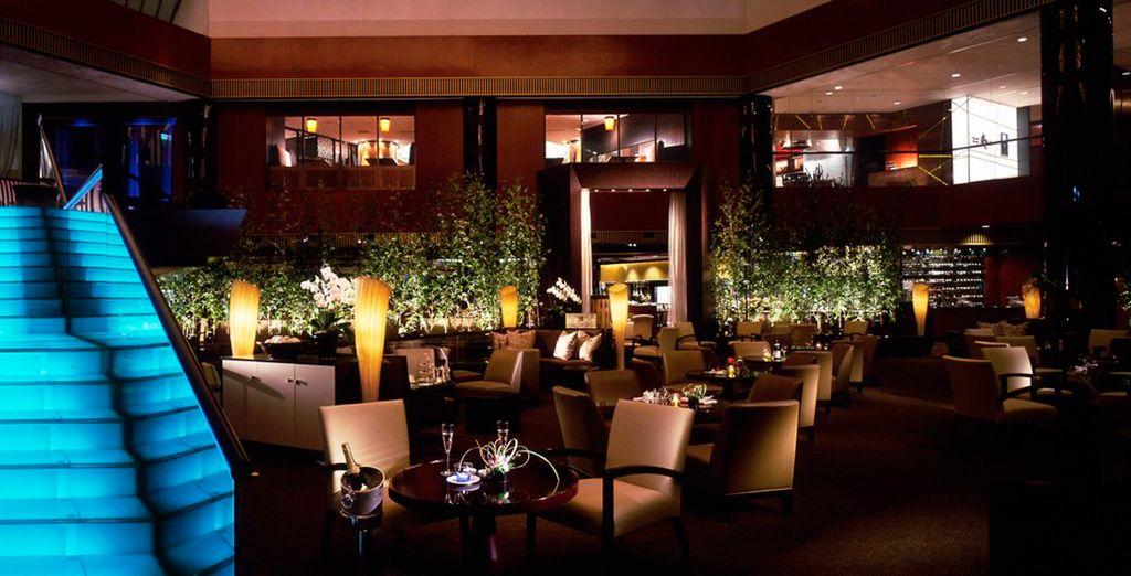Un hotel de lujo en la capital nipona