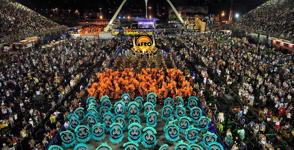Venga a descubrir el mejor carnaval del mundo