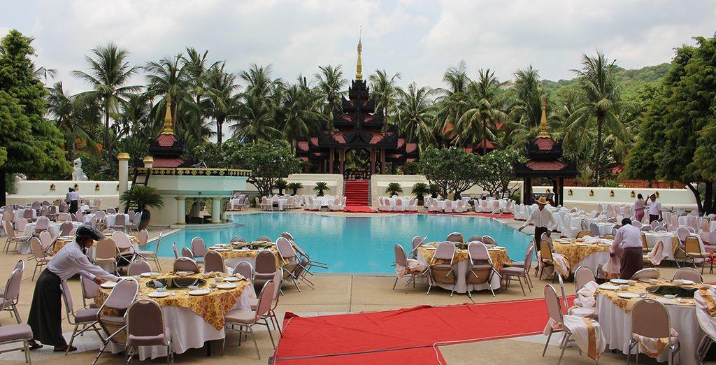 En Mandalay Hill todo está dispuesto para un descanso y relax total