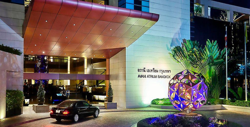 Hotel AVANI Atrium 5*, tu hotel de categoría Deluxe en Bangkok
