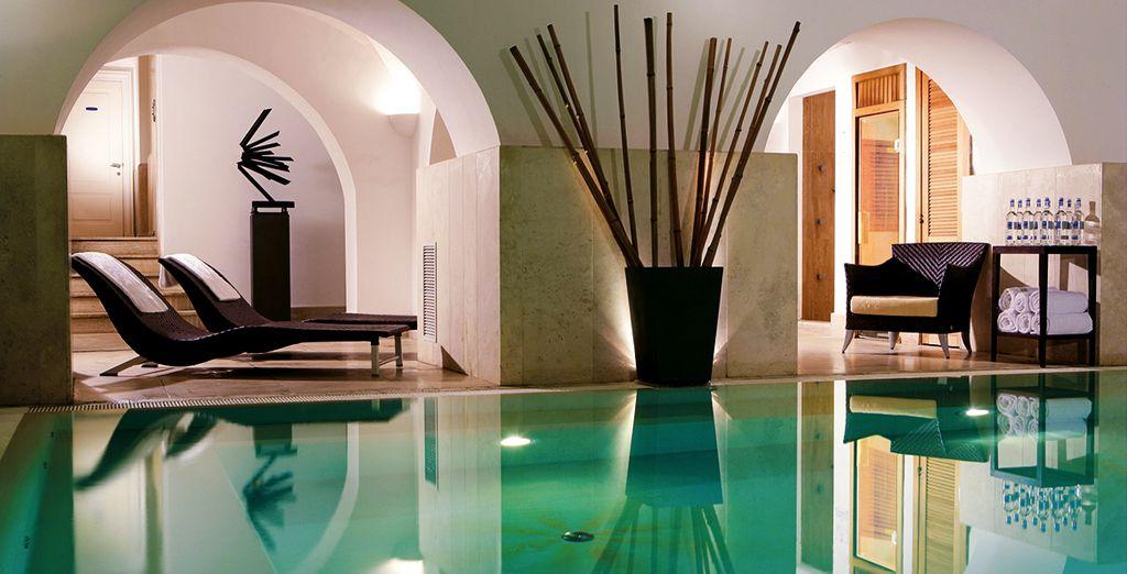 Disfruta de libre acceso al Spa en el Rose Garden Palace 4*