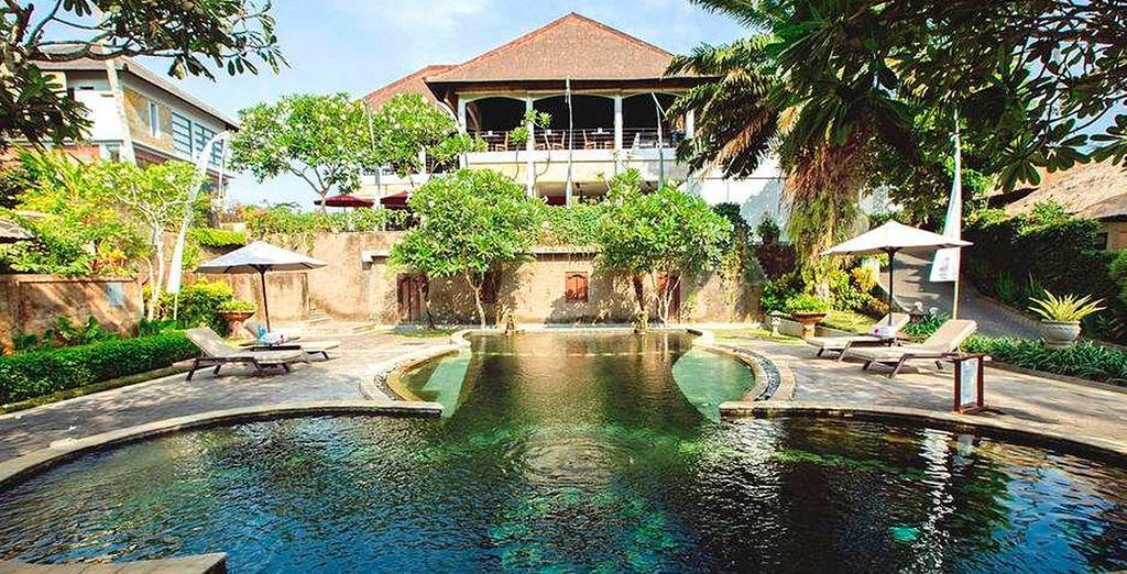 Bienvenido a Furama Villas & Spa, en Bali