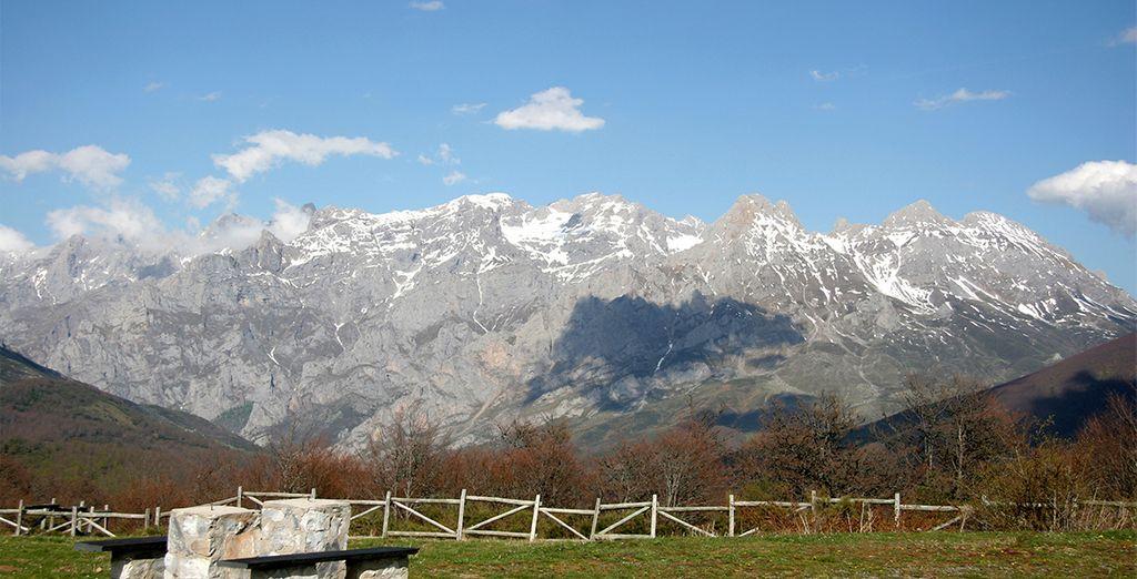 Magníficas vistas de los Picos de Europa