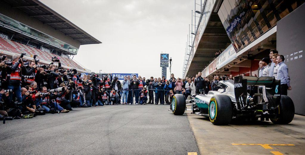 La Fórmula 1 es mucho más que una competición. ¡A qué espera para disfrutarla!