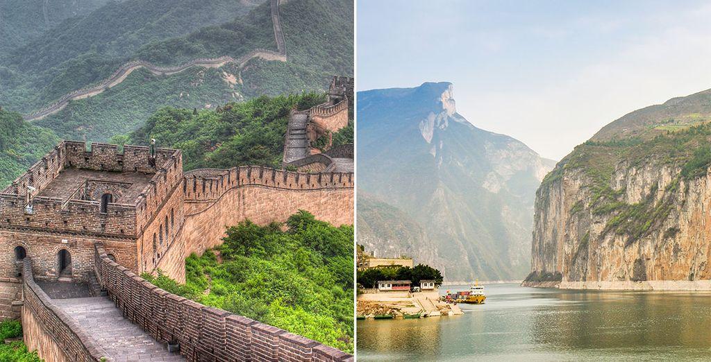 Recorra China con un crucero por el río Yangtzé