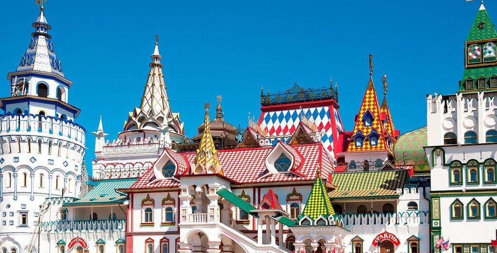 La visita a Kremlin, una de las más espectaculares