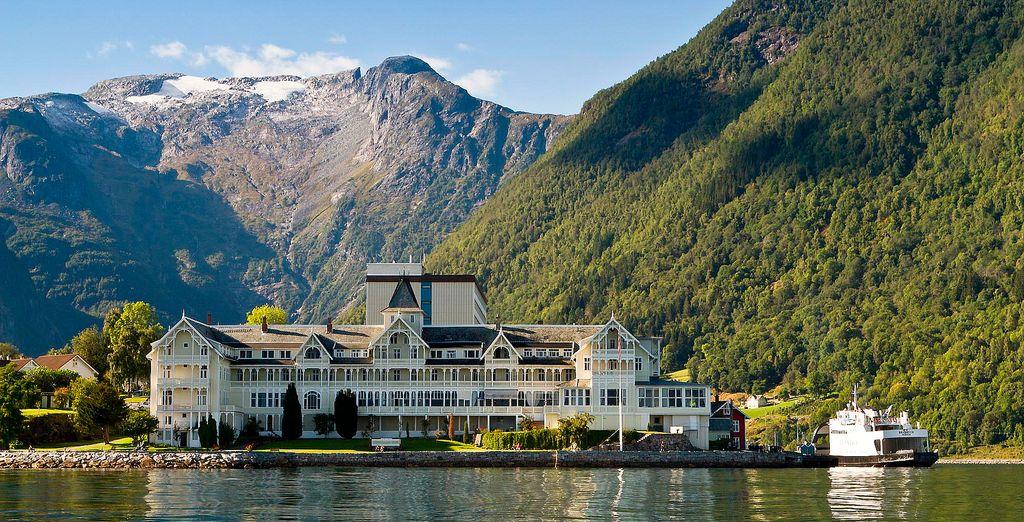 Kviknes Hotel 3*, una de tus opciones en el área de Sognefjord