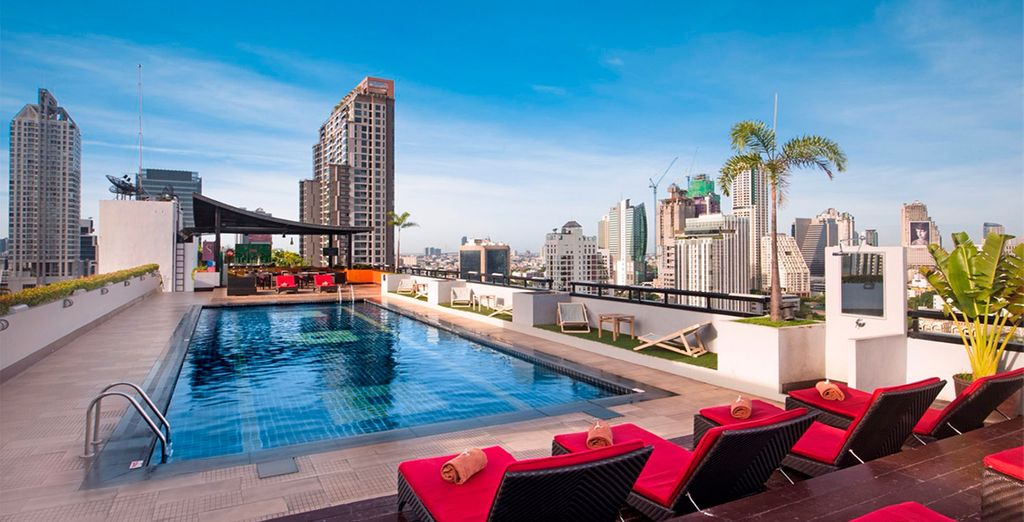 Furama Silom Hotel 4*, tu hotel de categoría Superior en Bangkok