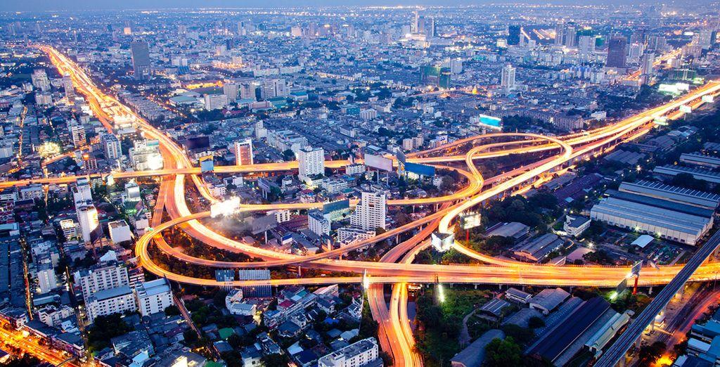 Bangkok y su impresionante infraestructura