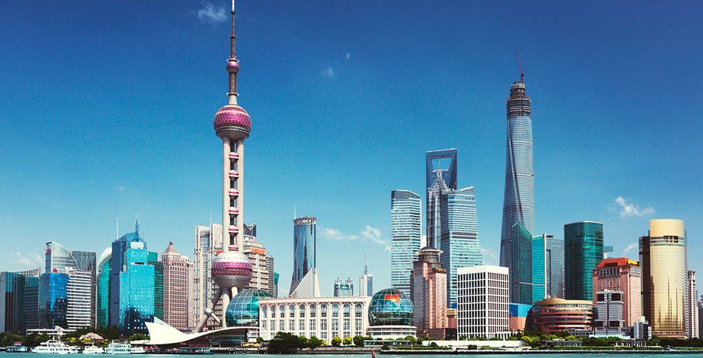 La moderna Shanghai será la última parada de este itinerario
