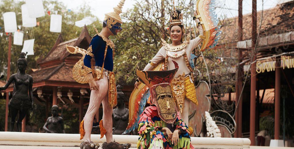 Siam Niramit, un espectáculo de clase mundial de las artes y el patrimonio cultural de Tailandia