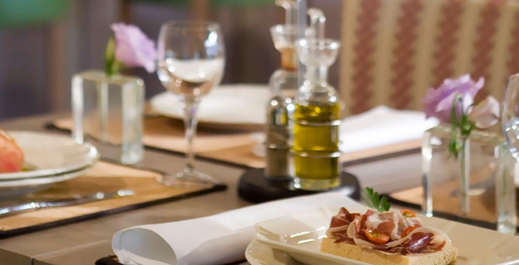 inspiradas en platos típicos andaluces
