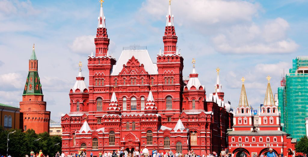 Conozca la historia de la capital rusa