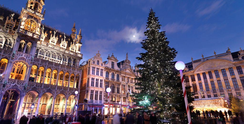 Disfrute de los mercadillos de Navidad de Bruselas