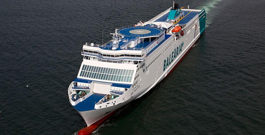 ¡Sube a bordo de Balearia y conoce Mallorca!