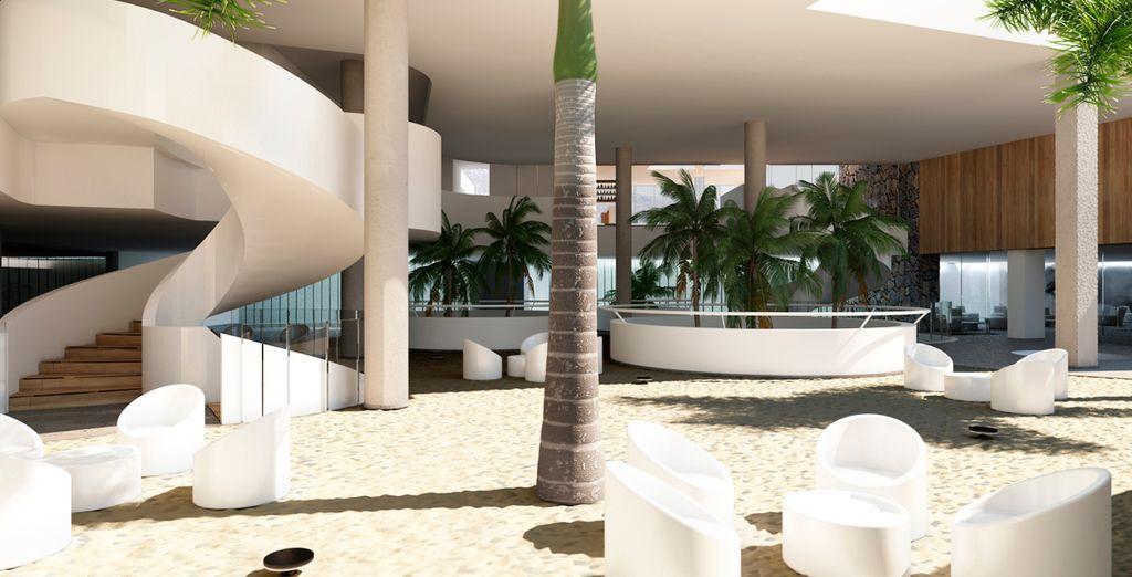 El Baobab Suite combina el diseño y la modernidad en líneas suabes y elegantes