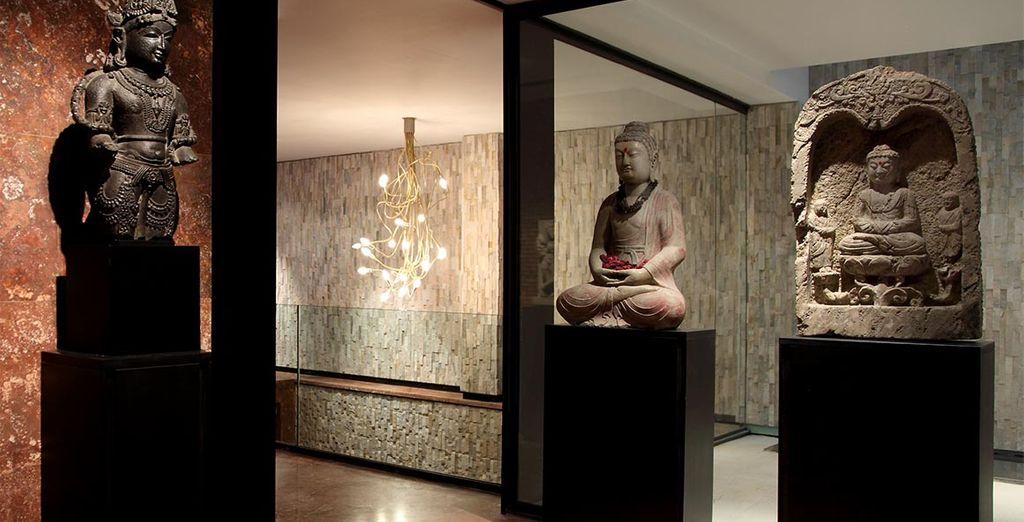 Un espacio exclusivo donde se exhibe parte de la Colección Arqueológica Clos con obras únicas de arte hindú