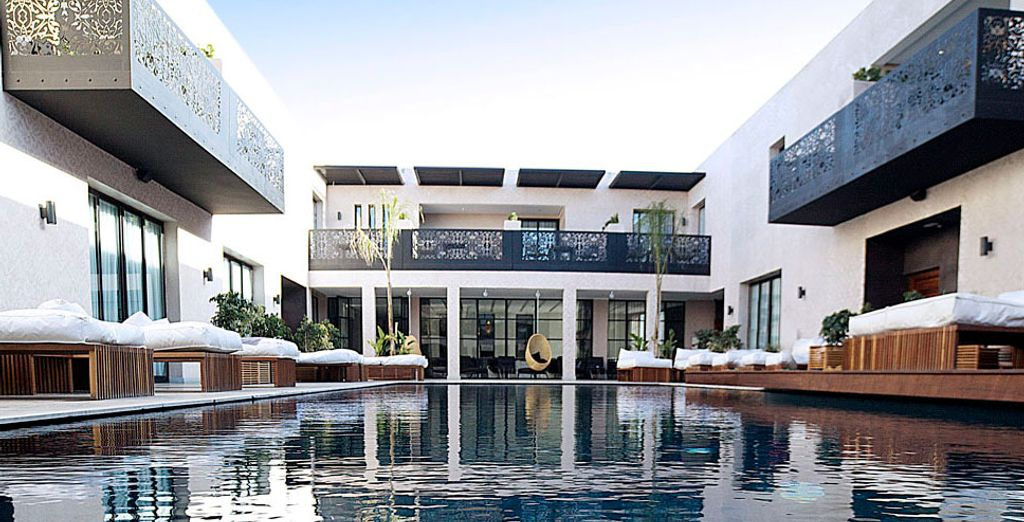 Un hotel que une tradición y modernidad en sus instalaciones
