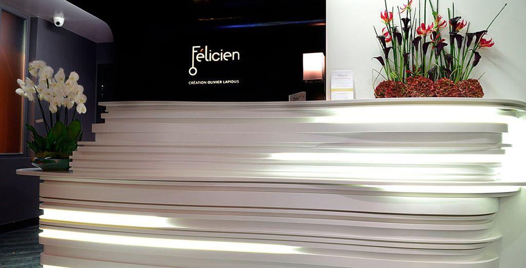Bienvenido a Hotel Félicien 4* by Elegancia
