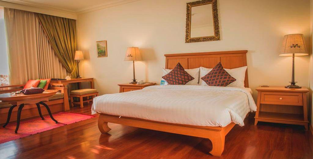Tu habitación en Hotel Imperial River House 4* Sup